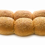 Soft Baps Wholemeal pack of 6